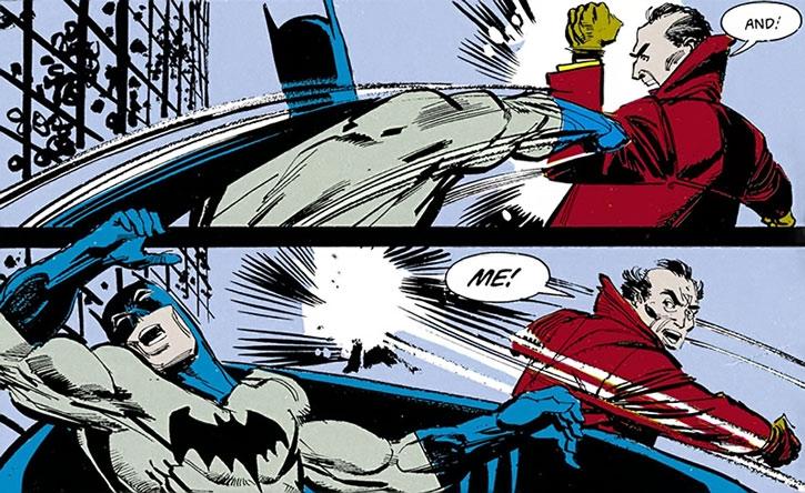 Mister Whisper vs. Batman