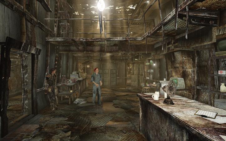 Moira Brown's Megaton shop in Fallout 3