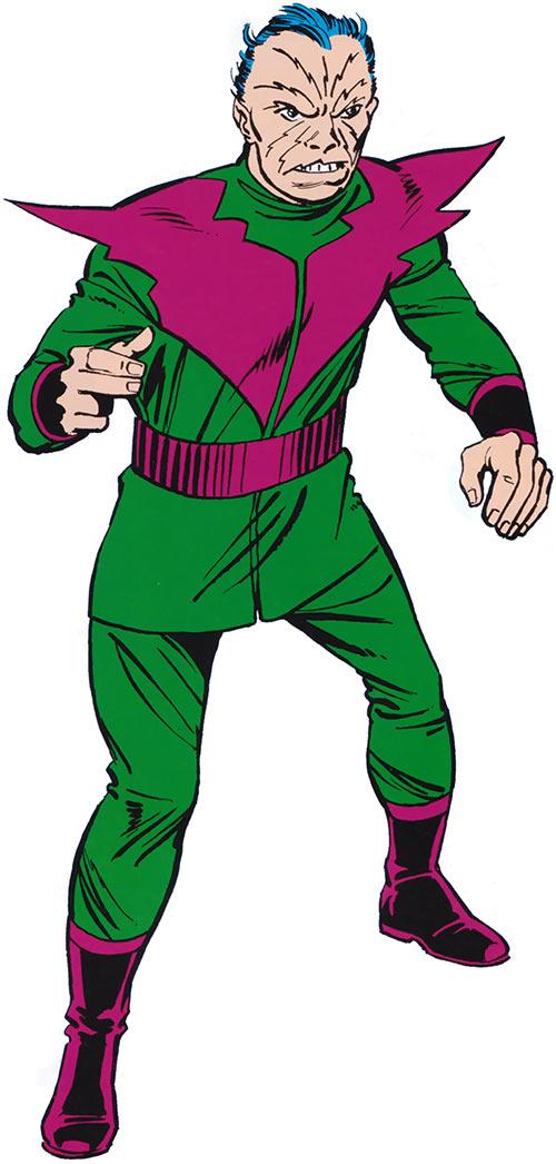 Molecule Man (Marvel Comics) from the older handbook