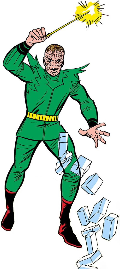 Early Molecule Man (Marvel Comics) with his wand