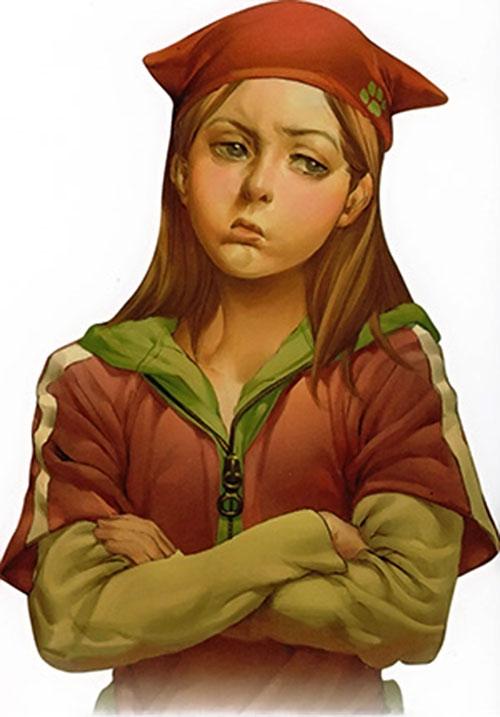 Molly Hayes aka Bruiser of the Runaways (Marvel Comics)