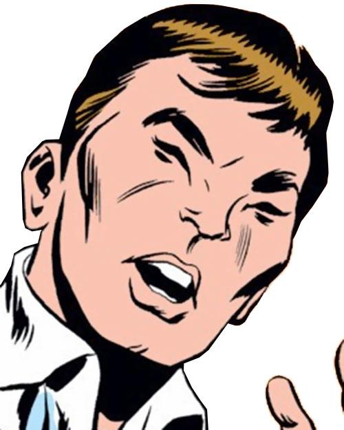 Monster Master (Iron Man enemy) (Marvel Comics) face closeup