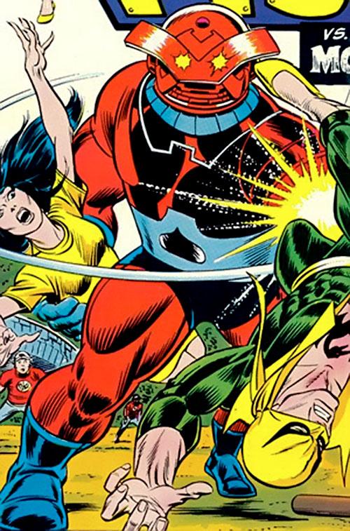 Monstroid aka Ballox (Marvel Comics) vs. Iron Fist