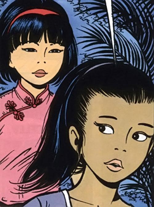 Monya Ichida and Yoko Tsuno
