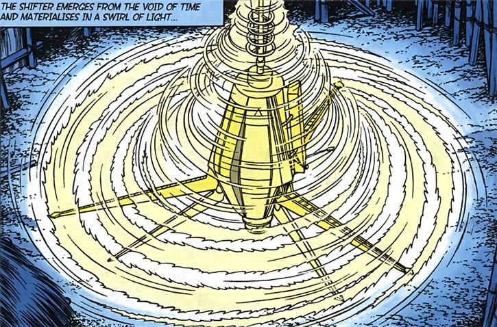 Monya's time machine spinning