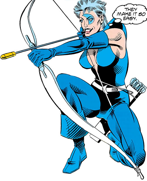 Moonbow (Firestorm character) (DC Comics) aiming her bow