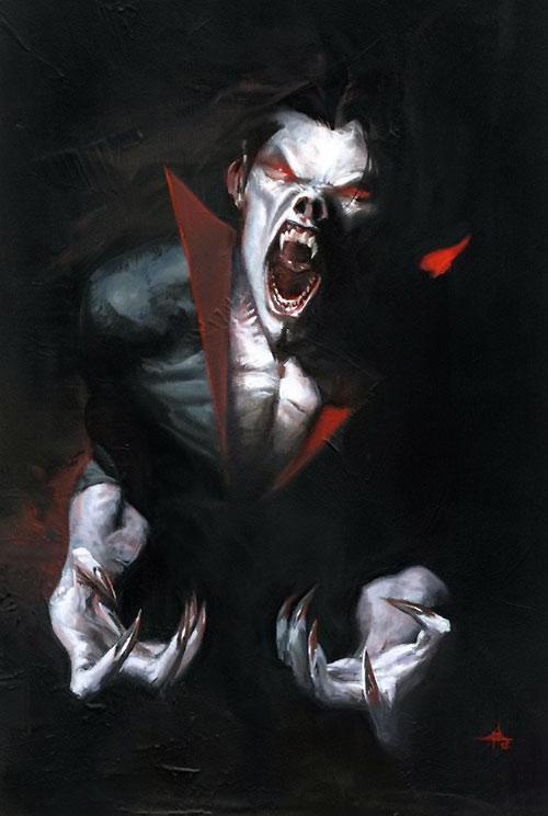 Morbius the Living Vampire (Marvel Comics) (Classic) painting