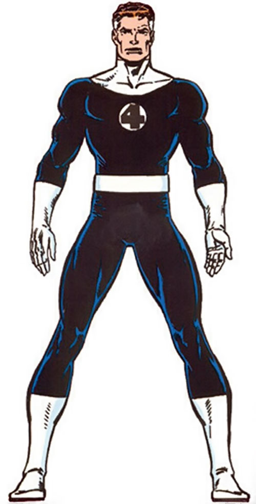 Mister Fantastic (Marvel Comics) from the Master Edition handbook