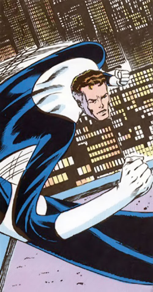 Mister Fantastic (Marvel Comics) stretching