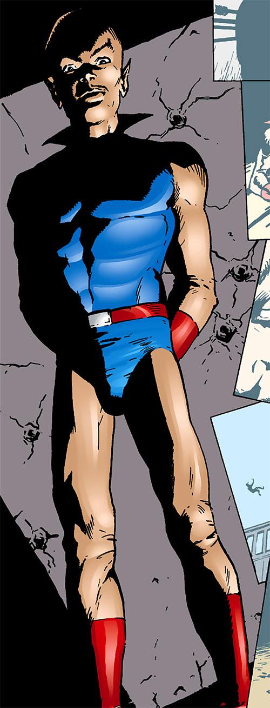 Multi-Man (DC Comics) looking ominous