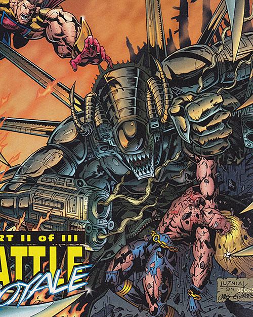 NME vs. Hardcase and Prime (Ultraverse Malibu comics)