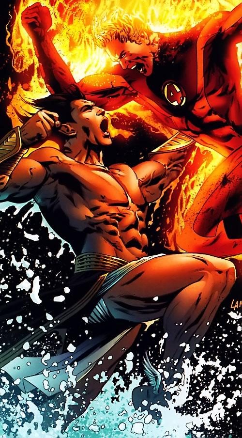 Namor vs. the Human Torch (Ultimate Marvel Comics)