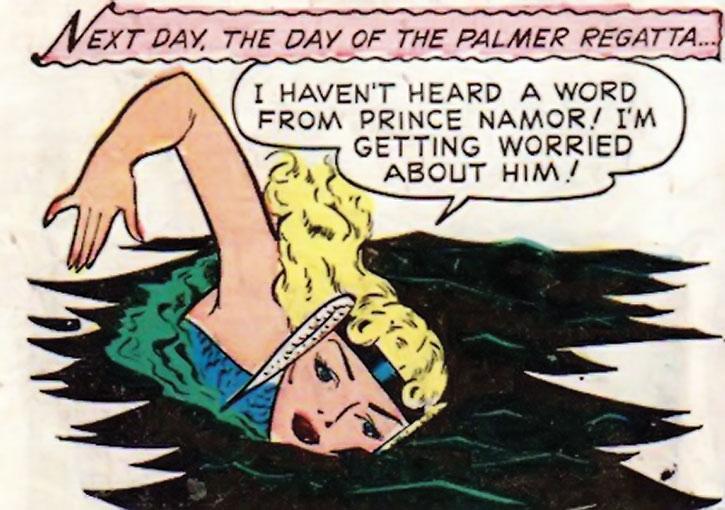 The Golden Age Namora swimming