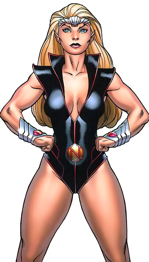 Namora of the Agents of Atlas (Marvel Comics)