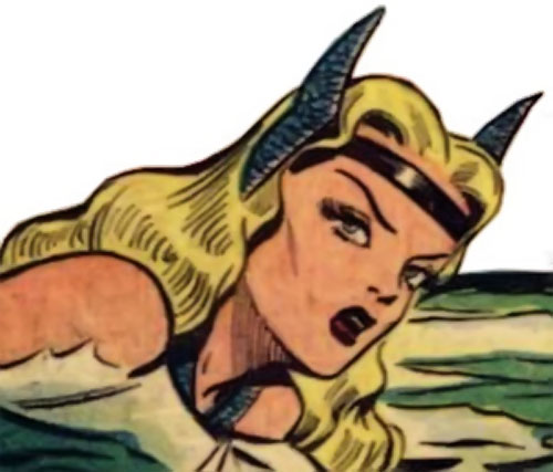 Namora (Golden Age Marvel Timely Comics) head above water