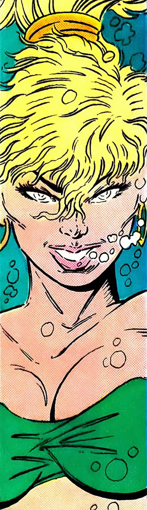 Namorita (Marvel Comics) face closeup by Liefeld