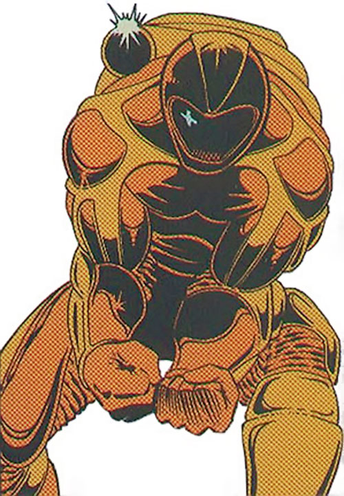 Nautilus (Spider-Man and Cage enemy) (Marvel Comics)