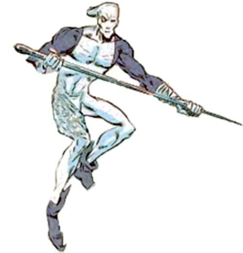 The Needle (Marvel Comics) with his giant needle