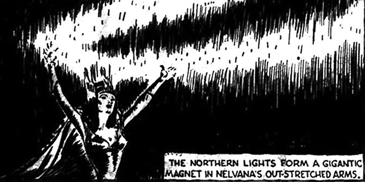 Nelvana of the Northern Lights using magnetism