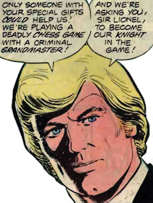 Nemesis (Tresser) (Pre-Crisis DC Comics Brave Bold) serious face closeup