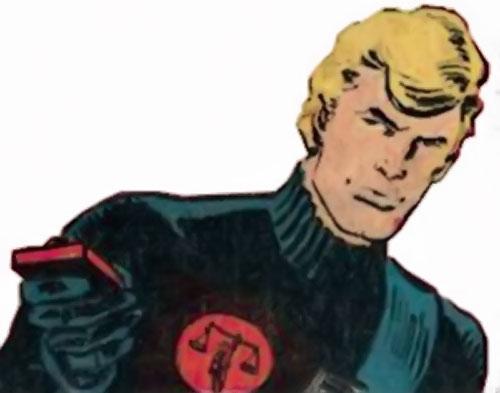 Nemesis (Tresser) (Pre-Crisis DC Comics Brave Bold) by Aparo, with a remote control