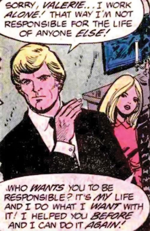Valerie Foxsworth (Nemesis ally) (DC Comics) and Thomas Tresser