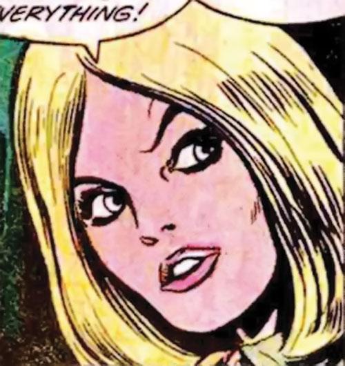 Valerie Foxsworth (Nemesis ally) (DC Comics) face closeup