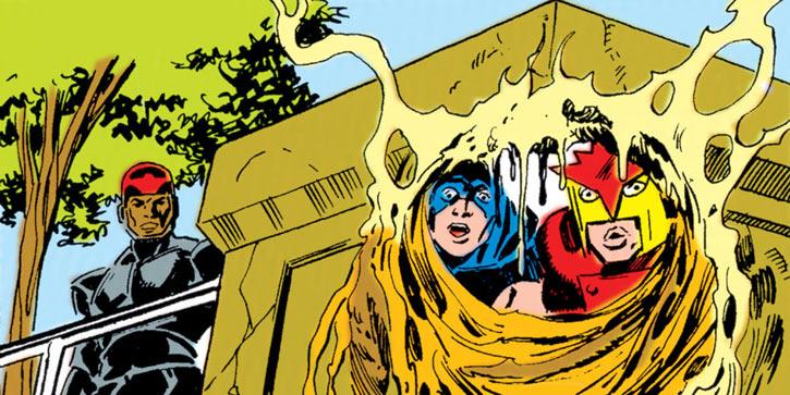 Early New Warriors (Marvel Comics) Thrasher Nova Marvel Boy