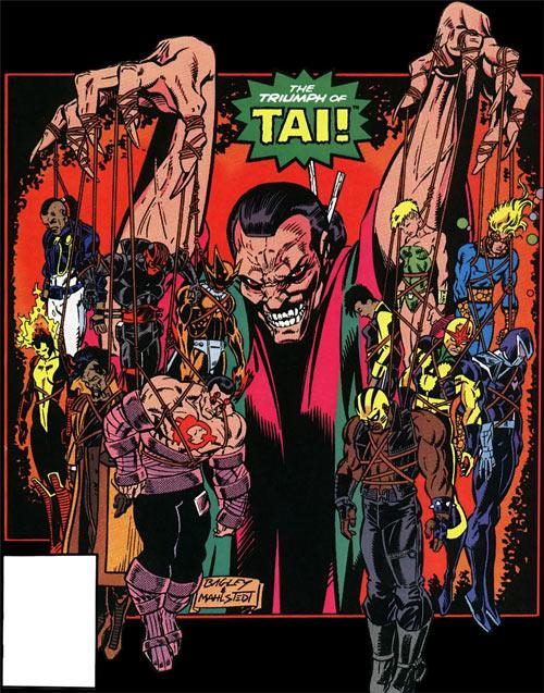 New Warriors (Marvel Comics) (Team Profile #2) Tai has captured both teams