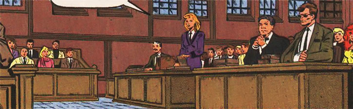 New Warriors (Marvel Comics) (Team Profile #2) court trial