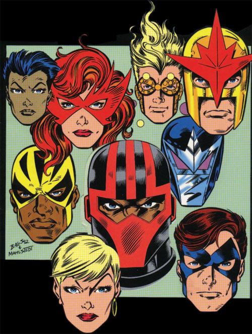 New Warriors (Marvel Comics) (Team Profile #2)