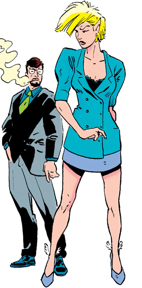 New Warriors (Marvel Comics) (Team Profile #2) Namorita and Project Earth