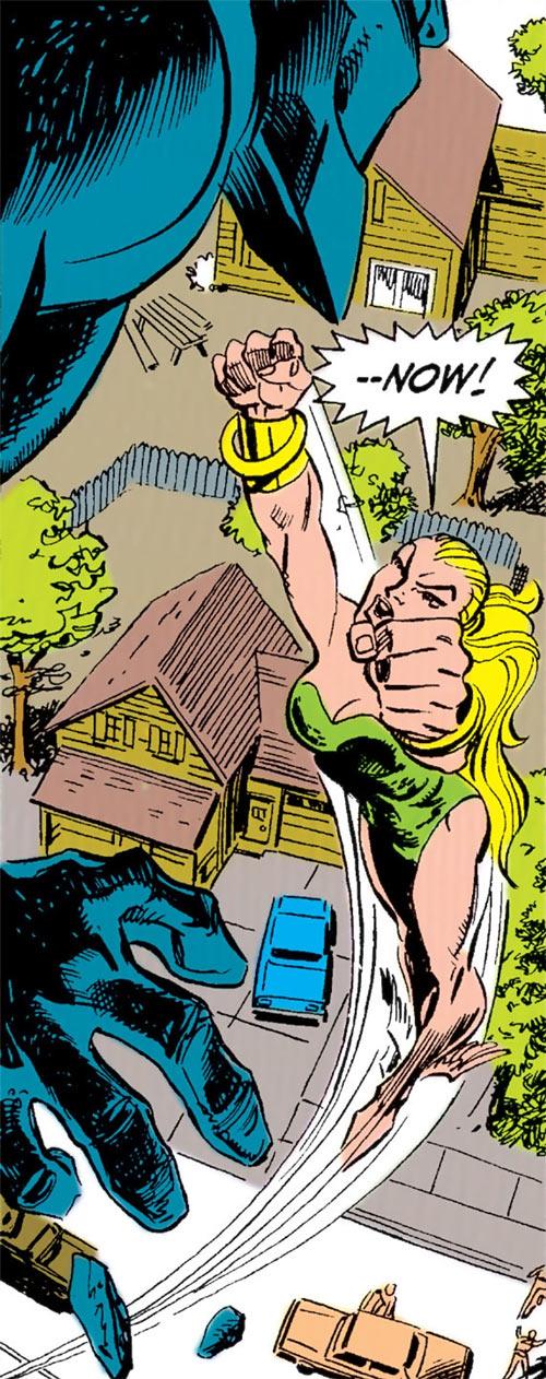 Namorita vs. Terrax (Marvel Comics)