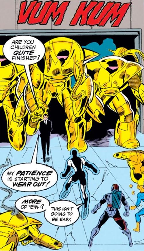 New Warriors - Marvel Comics - Earliest - vs. Mandroids