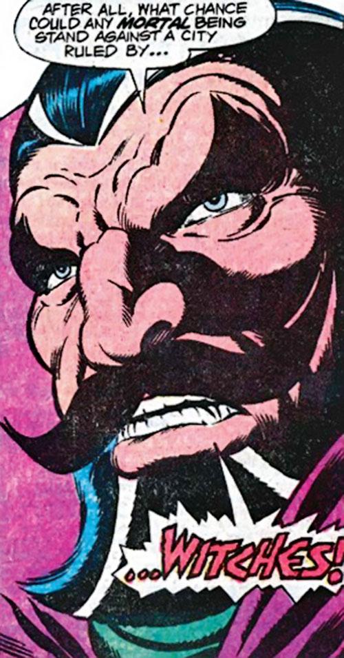 Nicholas Scratch (Marvel Comics) face closeup