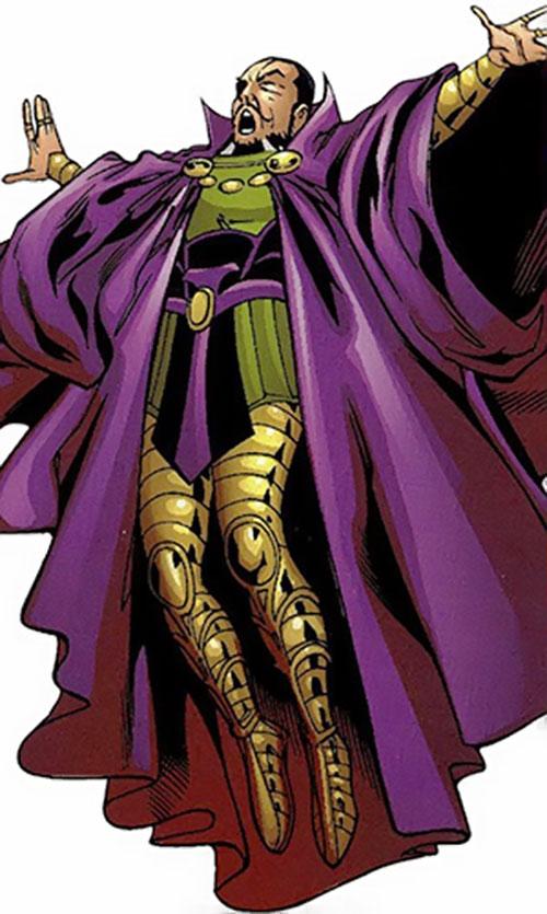 Nicholas Scratch (Marvel Comics) levitating