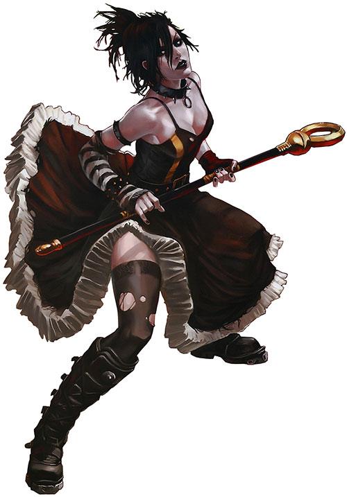 Nico Minoru aka Sister Grimm of the Runaways (Marvel Comics) by Djurdjevic