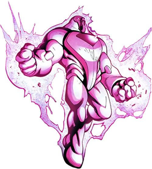 Nimrod the Sentinel (Marvel Comics) (X-Men enemy) levitating