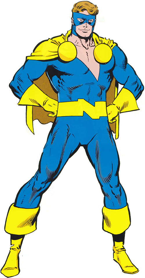 Nomad (Early) (Jack Monroe) (Captain America ally) (Marvel Comics) with the yellow boots and cape