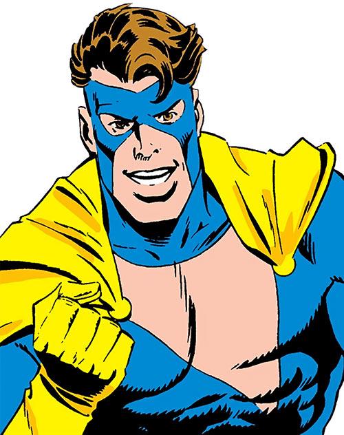 Nomad (Early) (Jack Monroe) (Captain America ally) (Marvel Comics) cheering