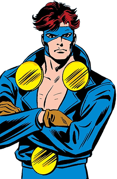 Nomad (Early) (Jack Monroe) (Captain America ally) (Marvel Comics) with arms crossed