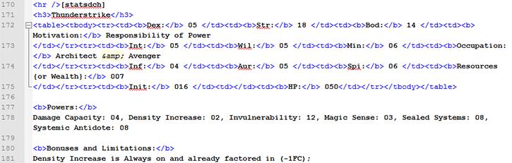 NotePad++ displaying HTML code