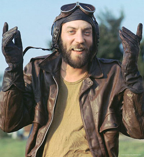Sergeant Oddball (Donald Sutherland in Kelly's Heroes)