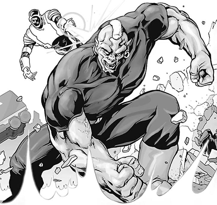 Ogre (James Stevens) vs. Defender