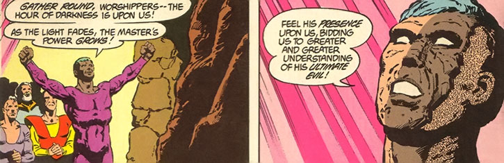 Ol-Vir worshipping Darkseid