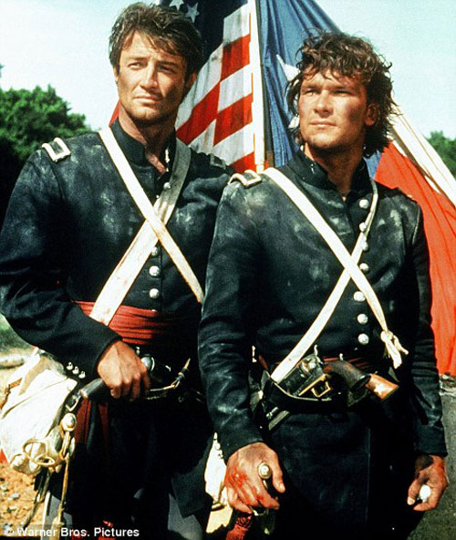 Patrick Swayze and James Read in North and South
