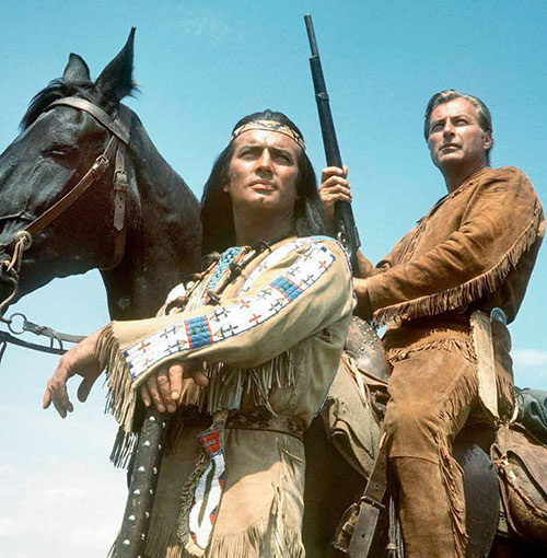 Winnetou and Old Shatterhand