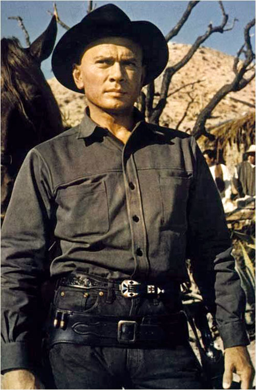 Yul Brynner in The Magnificent Sevent