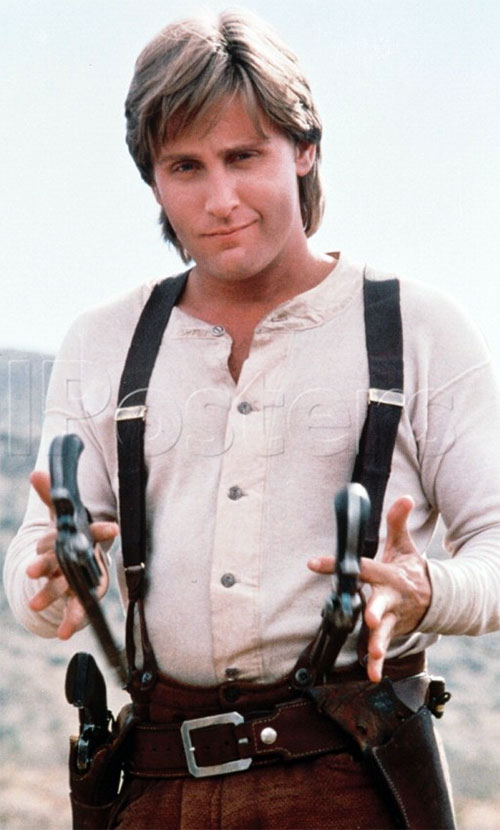 Emilio Estevez in Young Guns