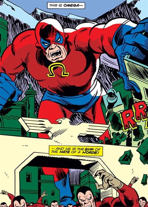 Omega (Inhuman construct, Fantastic 4 enemy) (Marvel Comics)
